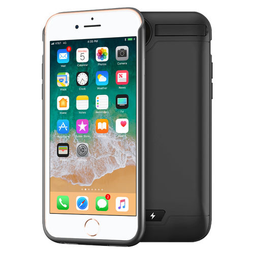 5500mAh Battery Charger Case for Apple iPhone 8 / 7 / 6s / 6 - Black